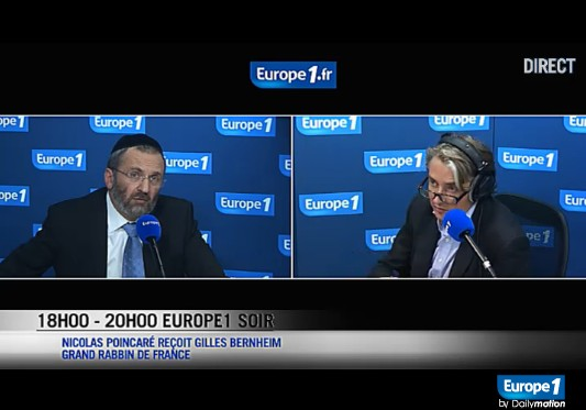 Le Grand Rabbin de France sur Europe 1